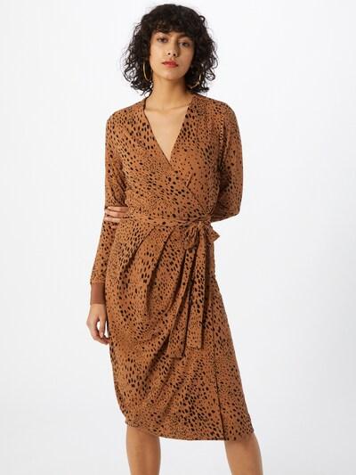 InWear Kleid 'ImeldaI' in cognac / schwarz, Modelansicht