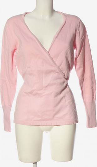 B.C. Best Connections by heine V-Ausschnitt-Pullover in L in pink, Produktansicht