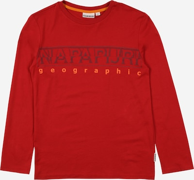 NAPAPIJRI Shirt 'SADYR' in orange / feuerrot, Produktansicht