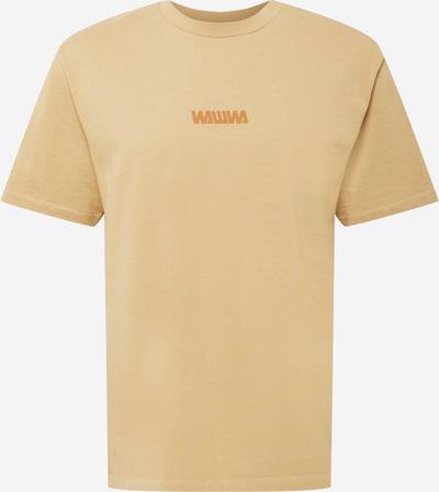 WAWWA T-Shirt en noisette / jaune d'or, Vue avec produit