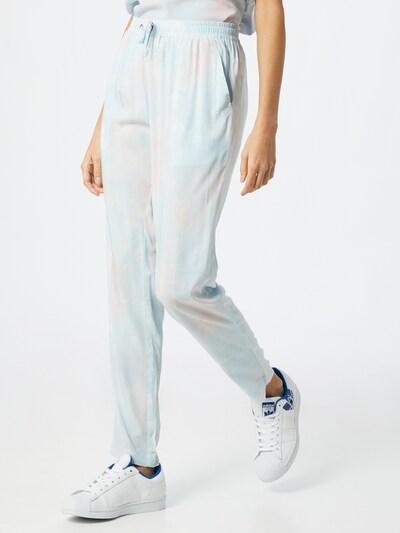 Iriedaily Kalhoty - modrá / starorůžová, Model/ka