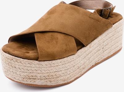 Kamoa Sandale in hellbraun, Produktansicht