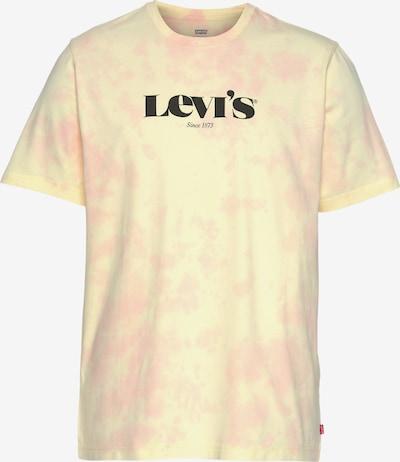 Tricou LEVI'S pe galben / roz pastel / roșu / negru, Vizualizare produs