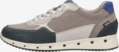 FRETZ MEN Sneaker in nachtblau / greige / wollweiß, Produktansicht
