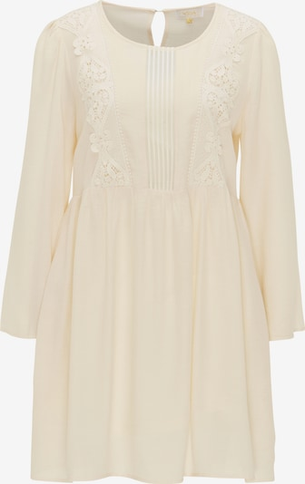 Usha Festival Kleid in beige, Produktansicht