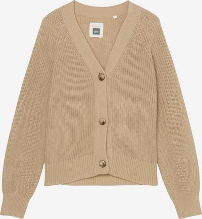 Marc O'Polo Cardigan ' aus Organic Cotton ' in beige, Produktansicht