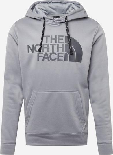 THE NORTH FACE Sweat de sport 'Surgent' en gris argenté / noir, Vue avec produit