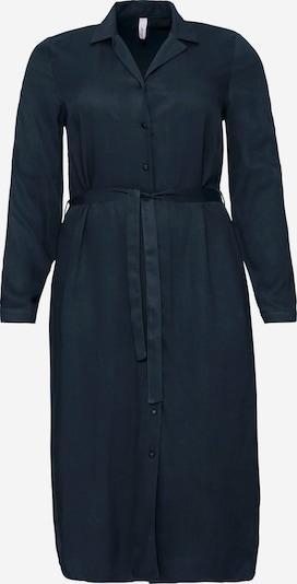 Rochie tip bluză SHEEGO pe albastru noapte, Vizualizare produs