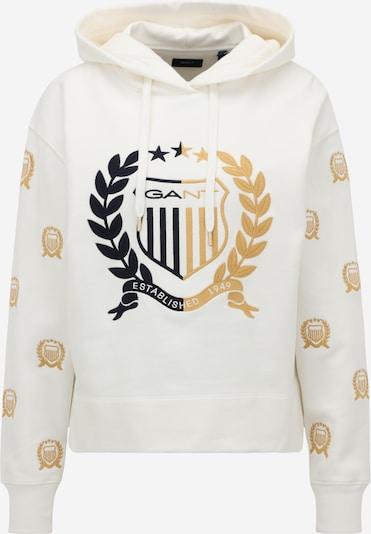 GANT Sweatshirt in sand / nachtblau / weiß, Produktansicht