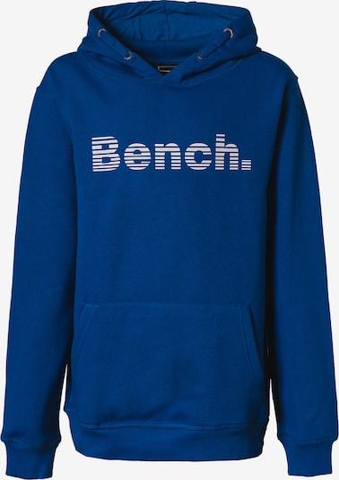 BENCH Sweatshirt in blau / weiß, Produktansicht