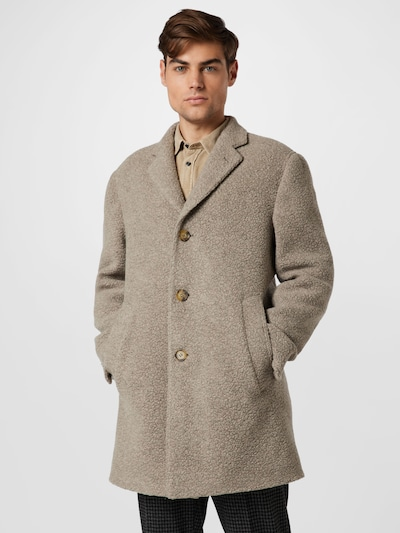 Oscar Jacobson Mantel 'Storvik' in beige, Modelansicht