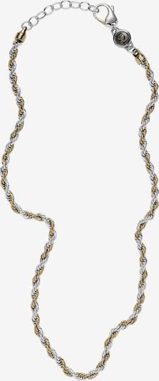 DIESEL Kette in gold / silbergrau, Produktansicht