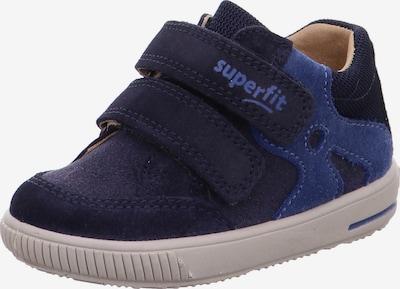 """Pirmieji vaiko vaikščiojimo bateliai 'MOPPY' iš SUPERFIT, spalva – nakties mėlyna / sodri mėlyna (""""karališka""""), Prekių apžvalga"""