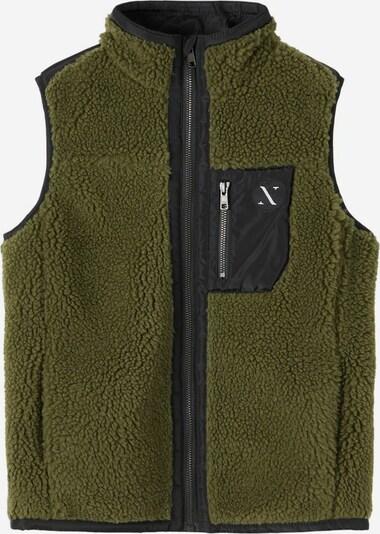 NAME IT Bodywarmer in de kleur Groen / Zwart, Productweergave