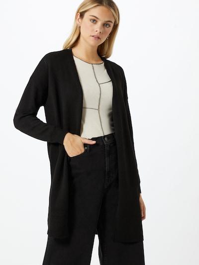 ONLY Pletena jopa | črna barva, Prikaz modela