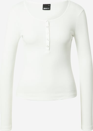 Gina Tricot Тениска 'Celie' в мръсно бяло: Изглед отпред
