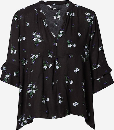 LTB Blouse 'Bolima' in green / purple / black / white, Item view