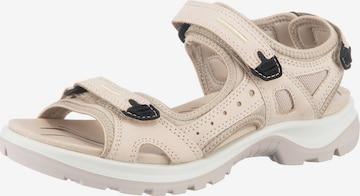 ECCO Hiking Sandals 'Offroad' in Beige