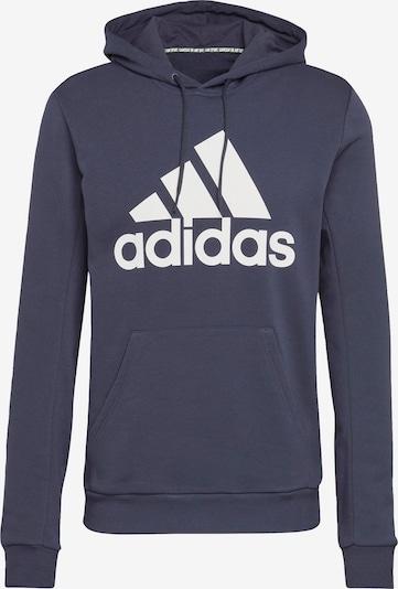 Sportinio tipo megztinis iš ADIDAS PERFORMANCE , spalva - tamsiai mėlyna / tamsiai mėlyna / balta, Prekių apžvalga