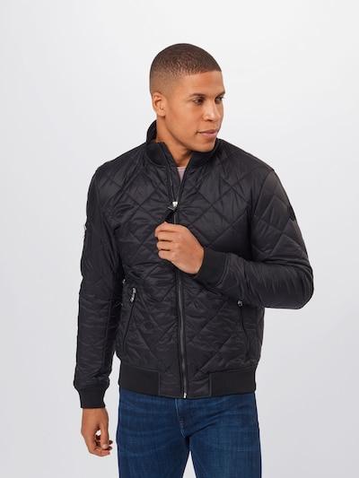 JOOP! Jeans Between-season jacket 'Aros' in black, View model