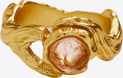 MANGO Bague en marron / or, Vue avec produit