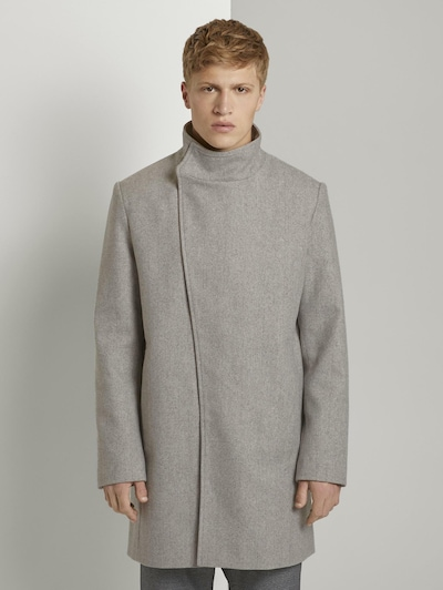 TOM TAILOR DENIM Manteau mi-saison en gris clair, Vue avec modèle