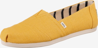 TOMS Classic Flats in Yellow, Item view