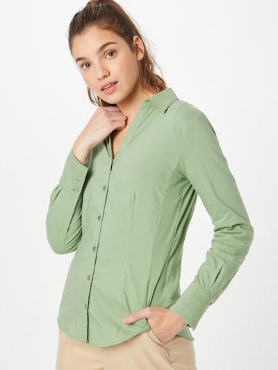 MORE & MORE Bluse 'Billa' in hellgrün, Modelansicht