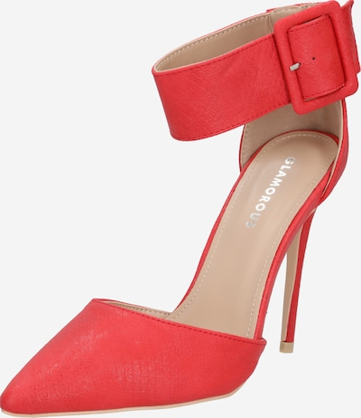 GLAMOROUS Pumps in rot, Produktansicht