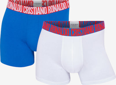 CR7 - Cristiano Ronaldo Boxershorts ' FASHION Black Friday ' in de kleur Blauw / Aqua / Wit, Productweergave
