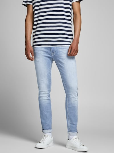JACK & JONES Jeans 'AGI 002 NOOS' i blue denim, Modelvisning