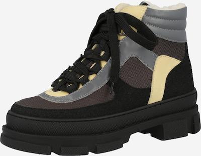 ANGULUS Snowboots in hellgelb / grau / taupe / schwarz, Produktansicht
