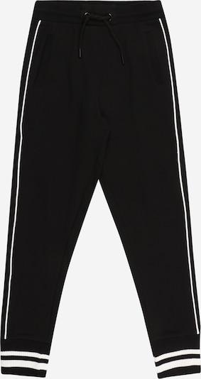 Pantaloni OVS pe negru / alb, Vizualizare produs
