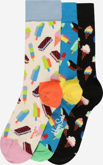 Happy Socks Socken in beige / nachtblau / himmelblau / mischfarben, Produktansicht