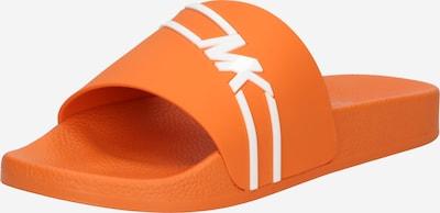 narancs / fehér MICHAEL Michael Kors Papucs 'JAKE', Termék nézet