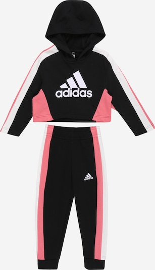 ADIDAS PERFORMANCE Tracksuit in light pink / black / white, Item view