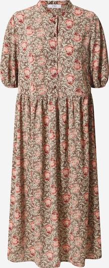 ONLY Košeľové šaty 'Janine' - hnedá / červená, Produkt