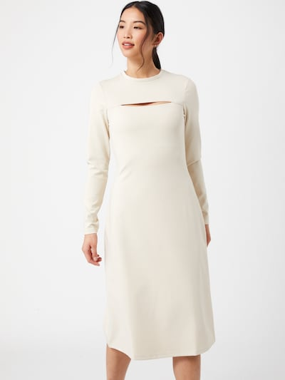 NU-IN Kleid in beige, Modelansicht