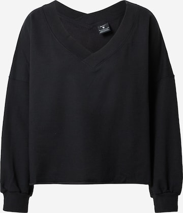 NIKE Αθλητική μπλούζα φούτερ 'Luxe' σε μαύρο