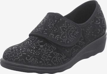 Westland Slippers 'Nice 80' in Black