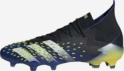 ADIDAS PERFORMANCE Voetbalschoen 'Predator Freak.1' in de kleur Navy / Neongeel / Zwart / Wit, Productweergave