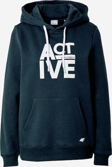 4F Sportsweatshirt in navy / weiß, Produktansicht