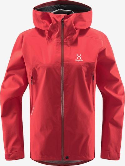 Haglöfs Outdoorjas 'Roc GTX' in de kleur Rood / Wit, Productweergave