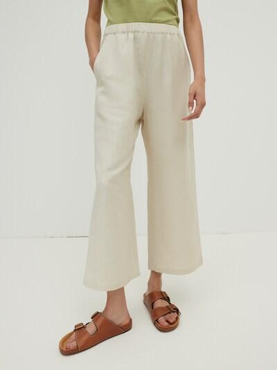 EDITED Pantalon 'Nona' en beige, Vue avec modèle