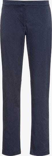JACK WOLFSKIN Hose in blau / schwarz, Produktansicht