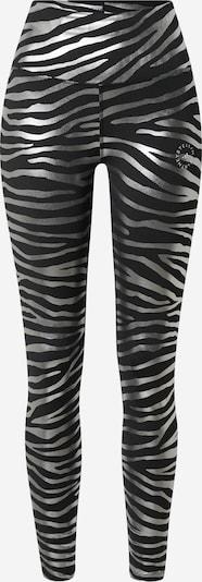 adidas by Stella McCartney Sporta bikses, krāsa - melns / Sudrabs, Preces skats