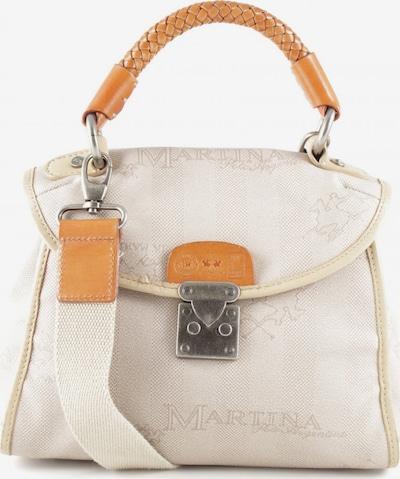 La Martina Schultertasche in One Size in hellorange / weiß, Produktansicht
