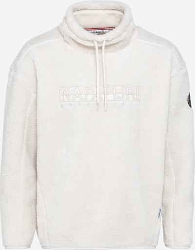 NAPAPIJRI Sweatshirt 'TEIDE' in weiß, Produktansicht