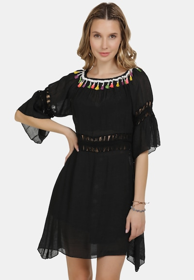 Rochie de vară IZIA pe mai multe culori / negru, Vizualizare model