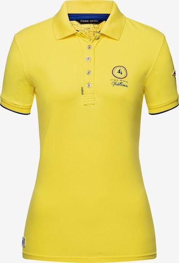 CODE-ZERO Poloshirt St Jean Polo in gelb / limone / zitronengelb: Frontalansicht